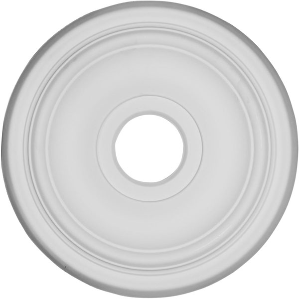 "15 1/2"" OD x 3 1/2""ID x 1 1/4""P Traditional Ceiling Medallion"