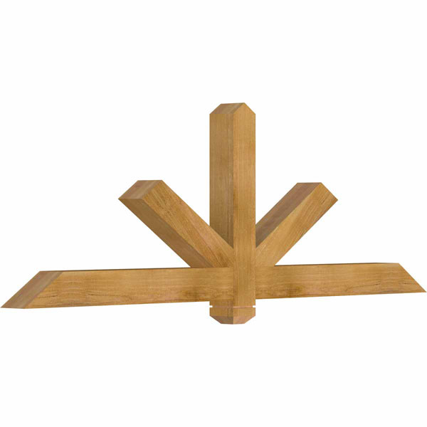 Kennewick Rustic Timber Gable Bracket