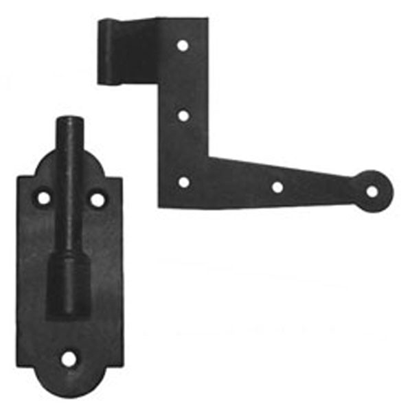 "6"" L-Hinge and Pintel: 1/2"" Offset (2 - Hinges / 2 - Pintels)"