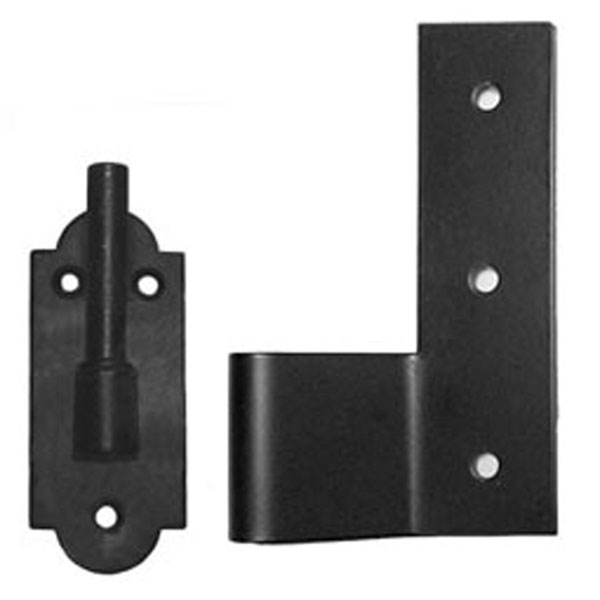 Exterior Shutter Hardware, Shutter Pintels and Hinges, Black