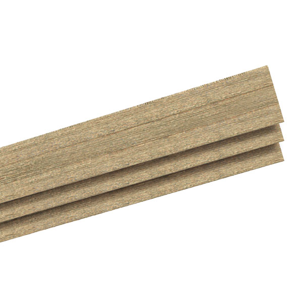 Rough Sawn Cedar Faux Wood Shutter Board Fabrication Panels, Contractor Pack (Qty. 10)