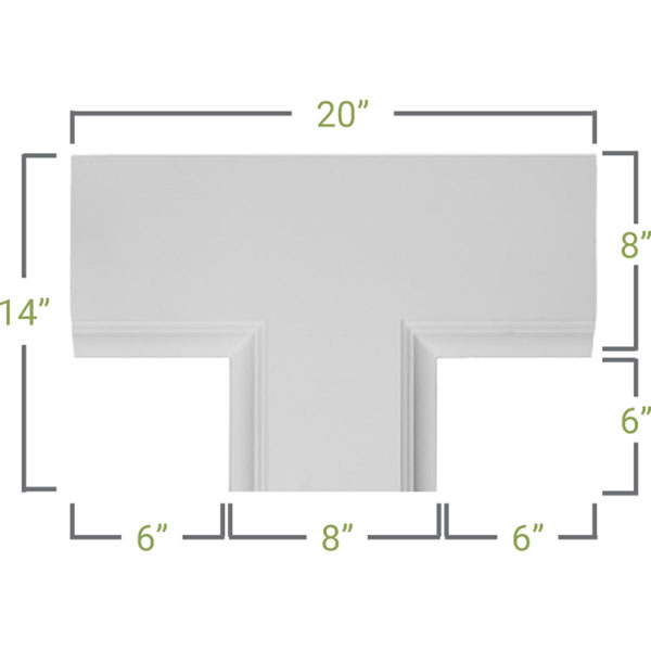 CC08PTE02X14X20TR Deluxe Coffered Ceiling System - Coffered Ceilings
