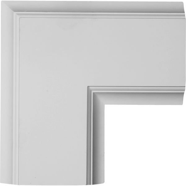 "14""W x 2""P x 14""L Inner Corner for 8"" Traditional Coffered Ceiling System"