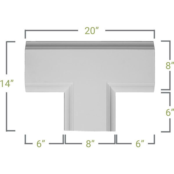 CC08ITE02X14X20TR Deluxe Coffered Ceiling System - Coffered Ceilings