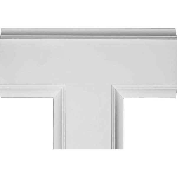 "14""W x 2""P x 20""L Inner Tee for 8"" Traditional Coffered Ceiling System"