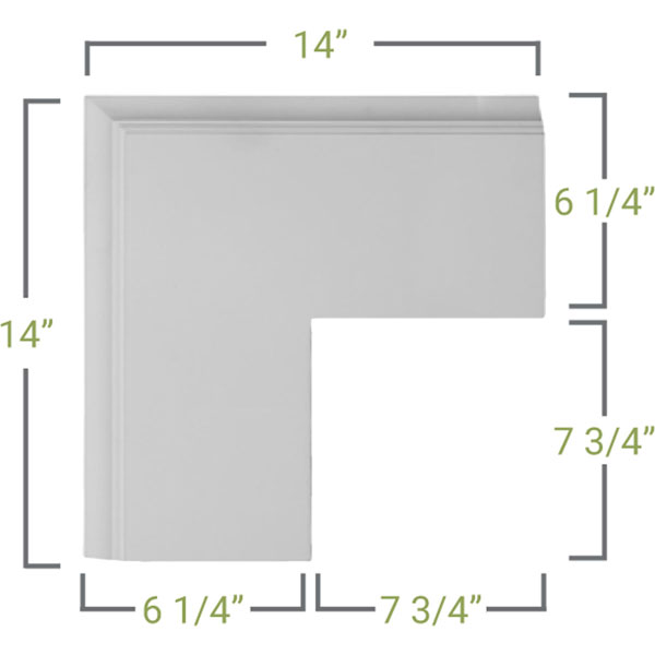 CC05POC02X14X14TR Coffered Ceilings