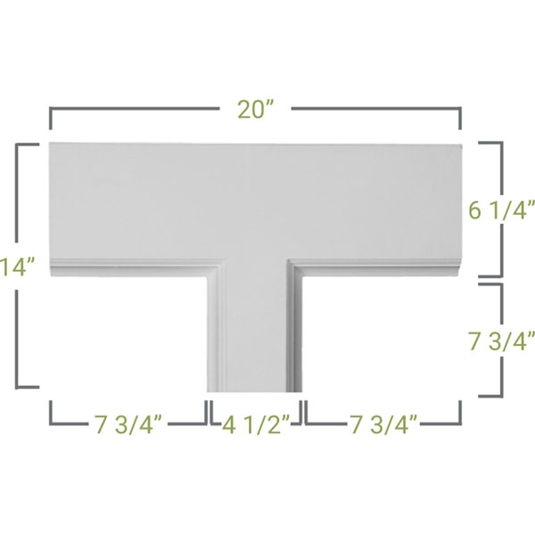 CC05PTE02X14X20TR Small Traditional Coffered Ceiilng System