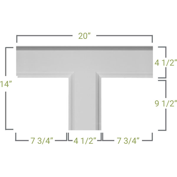 CC05ITE02X14X20TR Small Traditional Coffered Ceiilng System