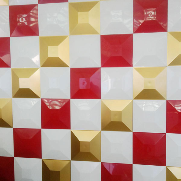 WP12X12SWWH 3D Wall Panels