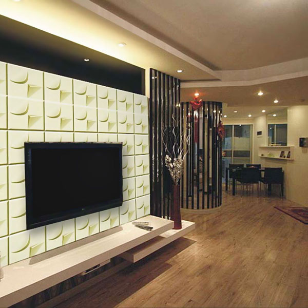 WP20X20REWH Three Dimensional Wall Panels