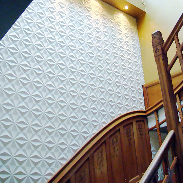 WP12X12KEWH Three Dimensional Wall Panels