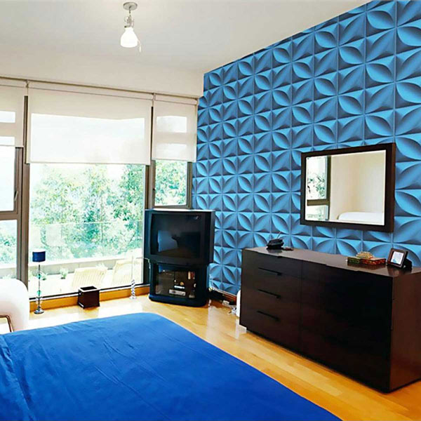WP12X12HEWH 3D Wall Panels