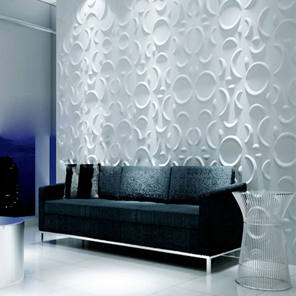 WP12X12SEWH Three Dimensional Wall Panels