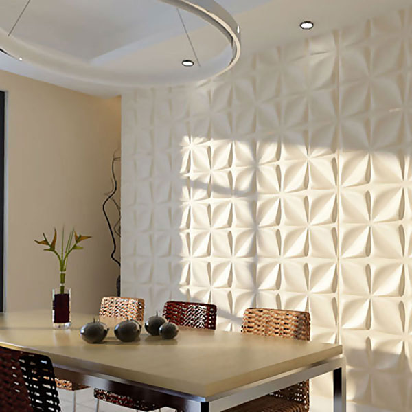WP20X20ODWH Three Dimensional Wall Panels