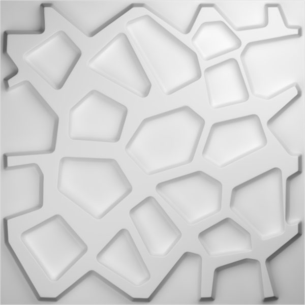 WP20X20DUWH 3D Wall Panels