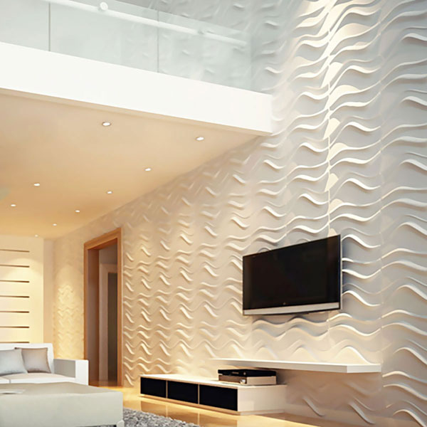WP20X20WVWH Three Dimensional Wall Panels