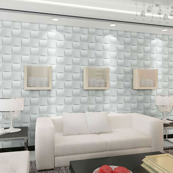 WP20X20BAWH 3D Wall Panels