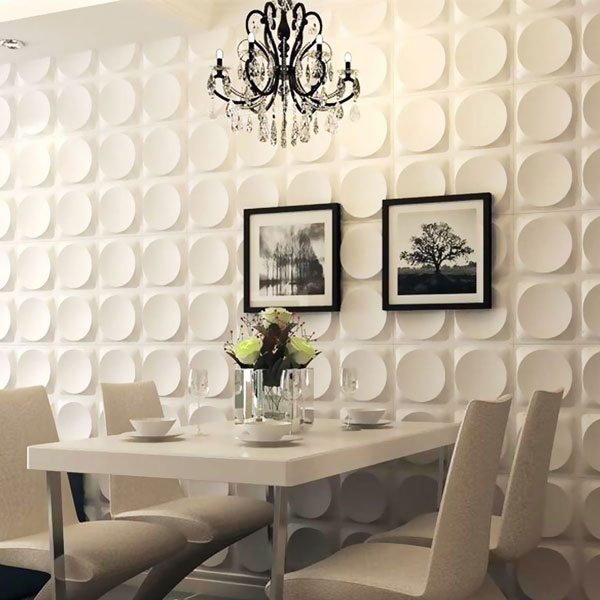 WP20X20ADWH Three Dimensional Wall Panels