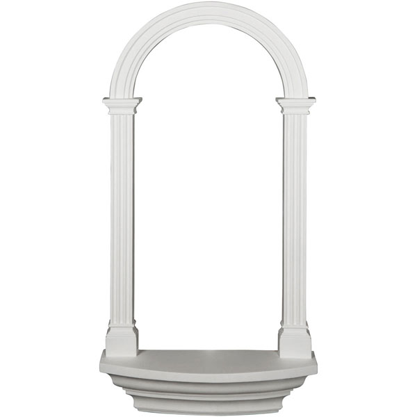 "25 3/4""W x 50 1/2""H x 5 7/8""D Carrillo Wall Niche"
