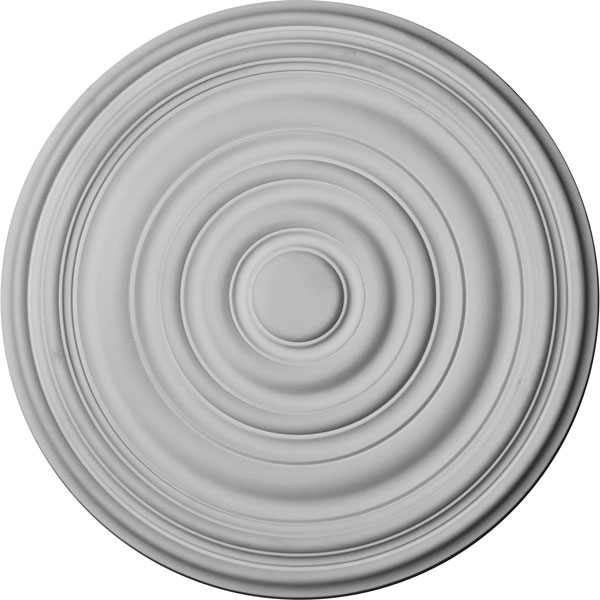 "17 3/4""OD x 1 3/8""P Carton Ceiling Medallion (For Canopies up to 3 3/4"")"