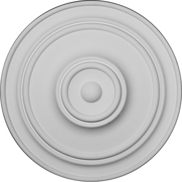 """21 7/8""""OD x 2 3/8""""P Classic Ceiling Medallion (For Canopies up to 5 1/2"""")"""