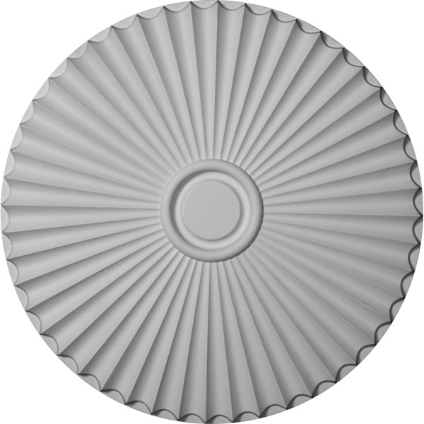 "29 1/2""OD x 2""P Shakuras Ceiling Medallion (For Canopies up to 5 1/2"")"