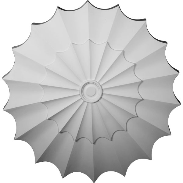 "64 1/4""OD x 4""P Shakuras Ceiling Medallion (For Canopies up to 5 3/4"")"