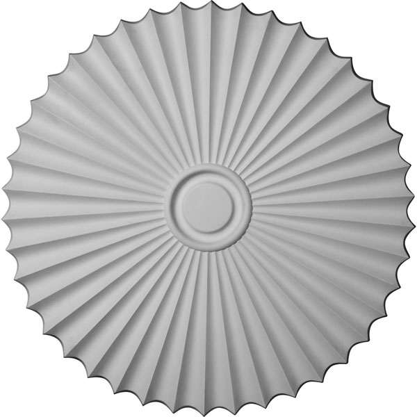 "33 7/8""OD x 2""P Shakuras Ceiling Medallion (For Canopies up to 5 3/4"")"