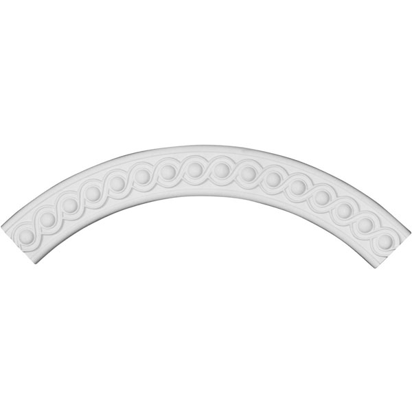 "28 3/4""OD x 23 5/8""ID x 2 5/8""W x 5/8""P Hillsborough Ceiling Ring (1/4 of complete circle)"