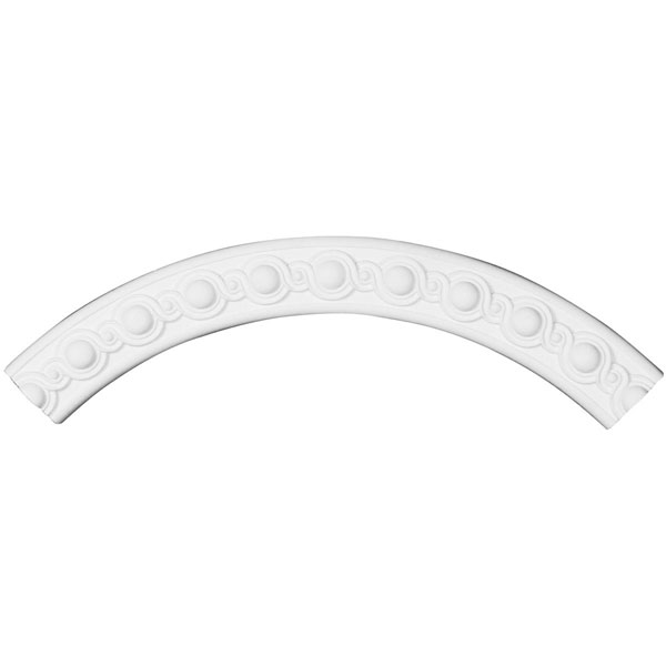 "35 1/2""OD x 29 1/2""ID x 3""W x 1""P Hillsborough Ceiling Ring (1/4 of complete circle)"