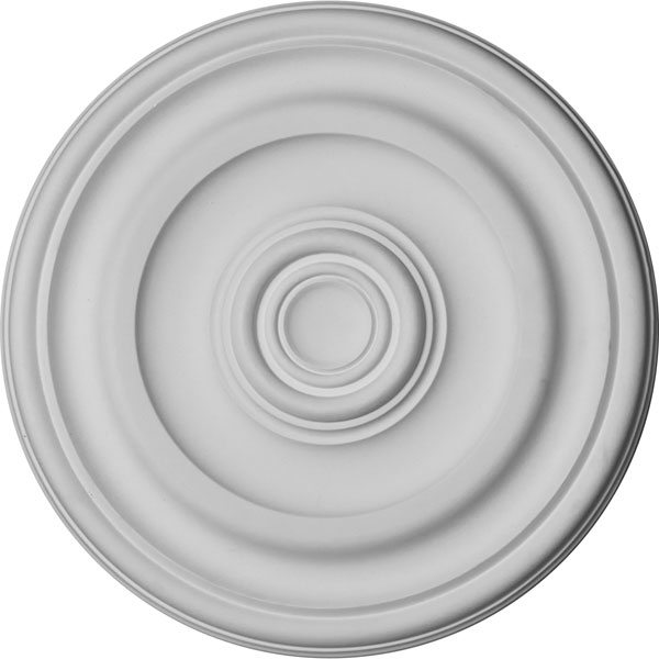 "11 7/8""OD x 1 1/4""P Kepler Traditional Ceiling Medallion (For Canopies up to 2 5/8"")"