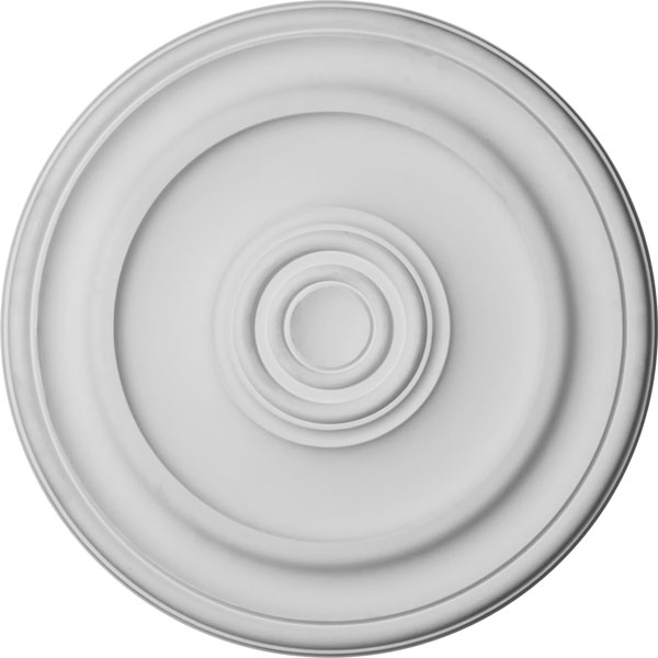 "19 3/4""OD x 1 1/2""P Kepler Traditional Ceiling Medallion (For Canopies up to 4 1/2"")"