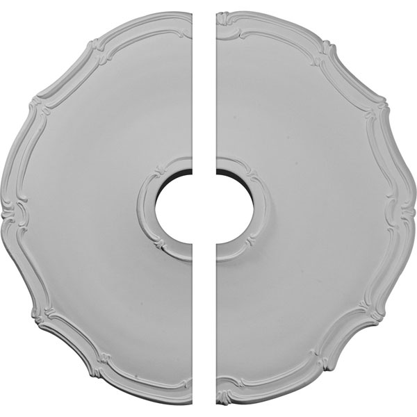 "18 7/8""OD x 3 1/2""ID x 1 1/2""P Pompeii Ceiling Medallion, Two Piece (Fits Canopies up to 3 1/2"")"