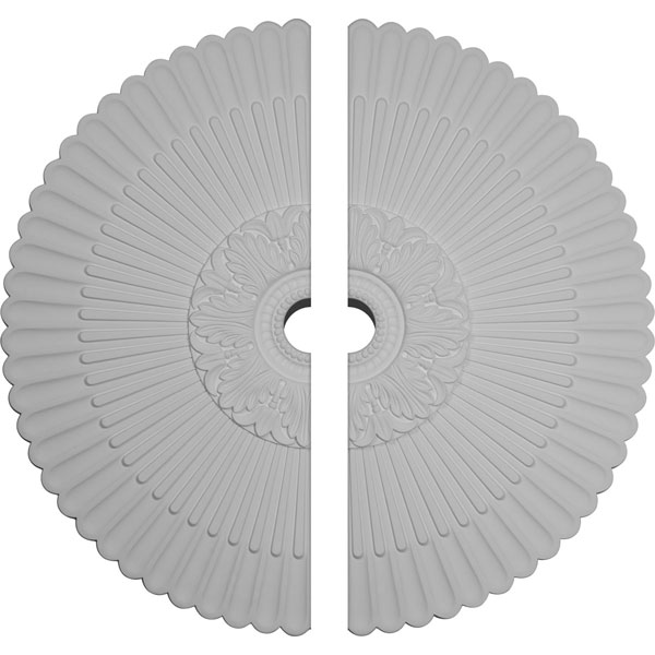 "41""OD x 5 1/2""ID x 1 5/8""P Nexus Ceiling Medallion, Two Piece (Fits Canopies up to 7 1/4"")"