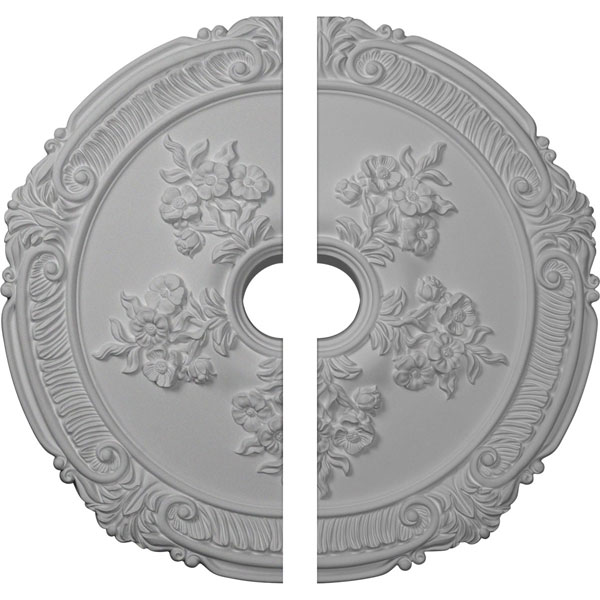 "26""OD x 3 3/4""ID x 1 1/2""P Attica with Rose Ceiling Medallion, Two Piece (Fits Canopies up to 4 1/2"")"