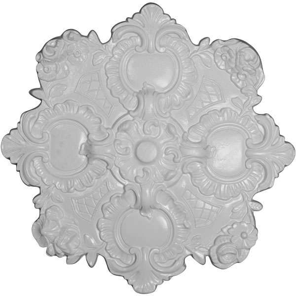 "18 1/8""OD x 1 1/2""P Hampshire Ceiling Medallion"