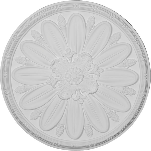 "35 7/8""OD x 1 1/2""P Fairfax Ceiling Medallion"