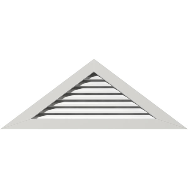 Triangle PVC Gable Vent