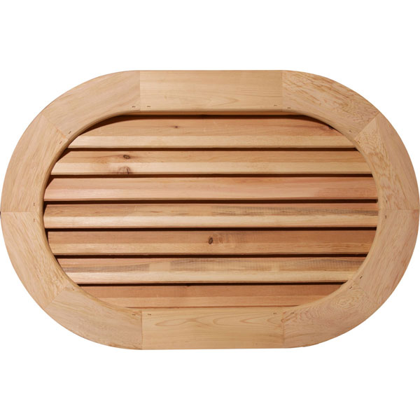 Horizontal Round Ended Gable Vent