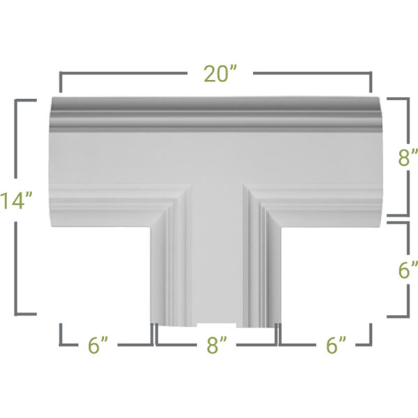 CC08ITE04X14X20DE Coffered Ceilings