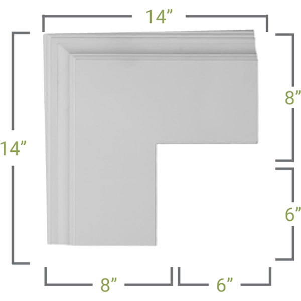 CC08POC04X14X14DE Coffered Ceilings