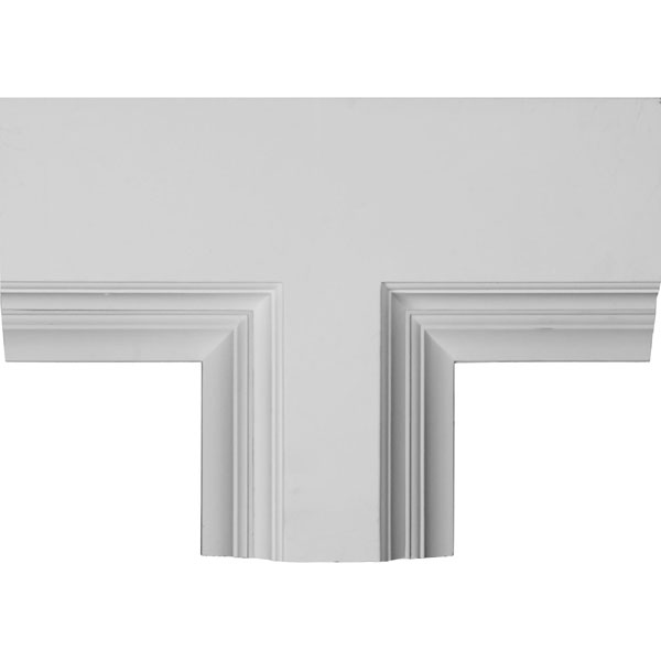 "14""W x 4""P x 20""L Perimeter Tee for 8"" Deluxe Coffered Ceiling System (Kit)"