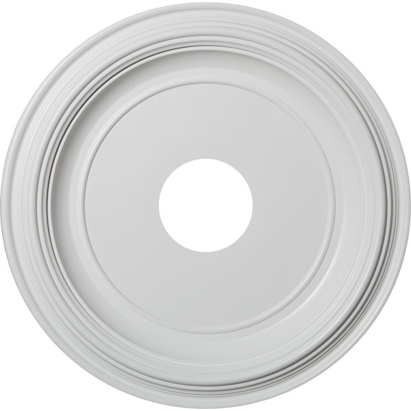 Traditional Thermoformed PVC Ceiling Medallion