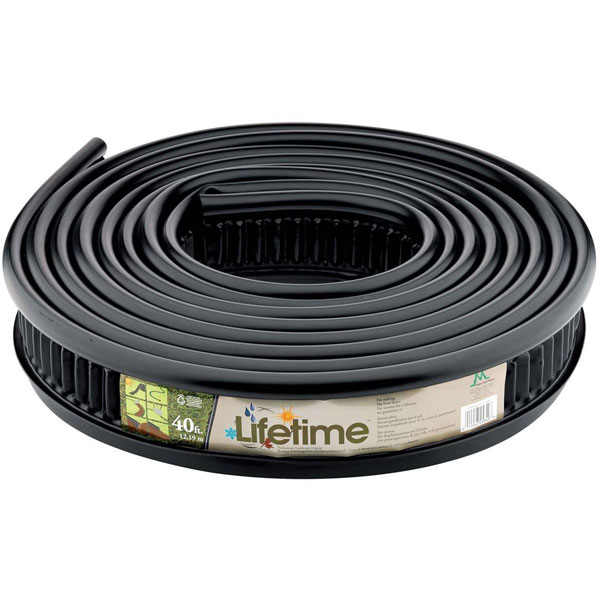 "5""H x 40'L Lifetime Professional Landscape Edging (Includes 1 coupler)"