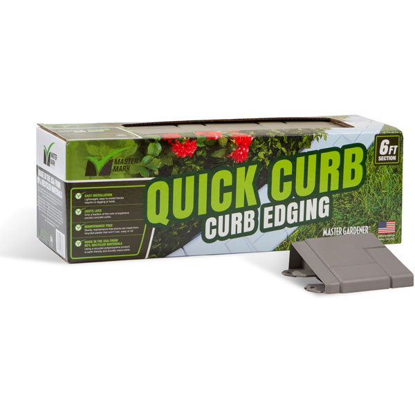 "2 5/8""H x 8""D x 6'L Quick Curb Edging (Comes in 12 Blocks)"