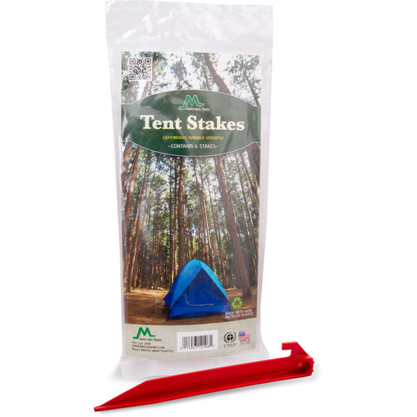 "9"" Tent Stakes (6/Pack)"