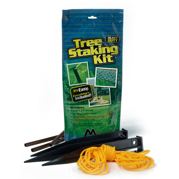 "Tree Master Heavy Duty Tree Staking Kit (For Trees Larger Than 2.5"" In Diameter)"