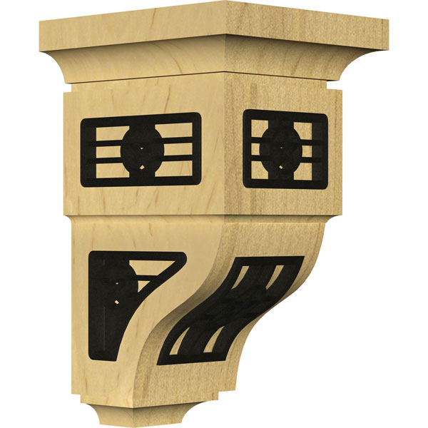 Reyes Wood Corbel w/ Inlay