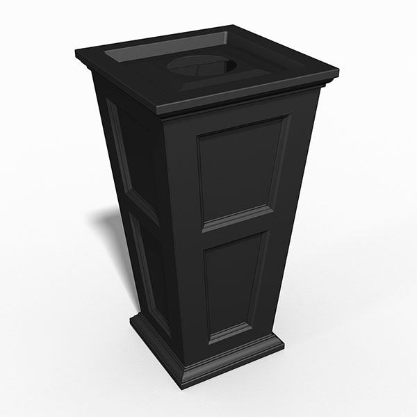 "22""W x 22""D x 40""H Fairfield Tall Waste Bin"