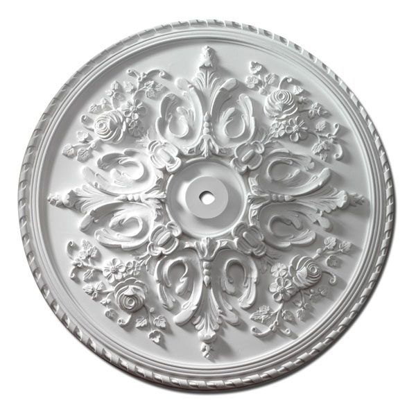 "32 1/2""OD x 1""ID x 2 1/2""P, Ceiling Medallion, St. Georges"